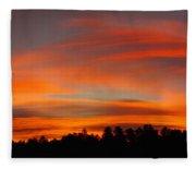 Lenticular Sunrise Fleece Blanket