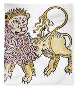 Leo An Illustration From The Poeticon Fleece Blanket