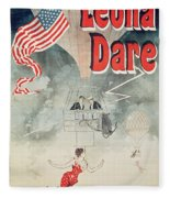 Leona Dare Fleece Blanket