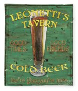 Leonetti's Tavern Fleece Blanket