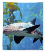 Leopard Shark Fleece Blanket