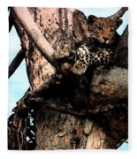 Leopard Spotted Fleece Blanket