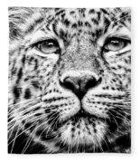 Leo's Portrait Fleece Blanket