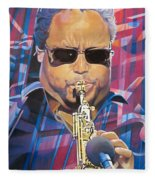 Leroi Moore And 2007 Lights Fleece Blanket