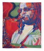 Leroi Moore Colorful Full Band Series Fleece Blanket