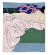 Les Cinq Sens Fleece Blanket