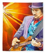 Les Claypool's-sonic Boom Fleece Blanket