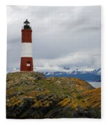 Les Eclaireurs Lighthouse Southern Patagonia Fleece Blanket