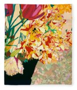 Les Fleur Fleece Blanket