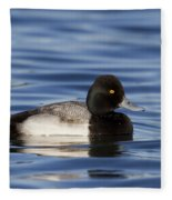 Lesser Scaup Fleece Blanket