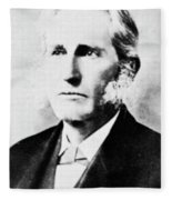 Lester Frank Ward (1841-1913) Fleece Blanket