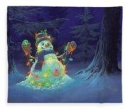 Let It Glow Fleece Blanket