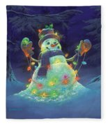 Let It Glow Fleece Blanket