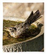 Let The Water Fly Fleece Blanket