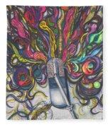 Let Your Music Flow In Harmony Fleece Blanket