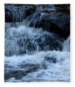 Letchworth State Park Genesee River Cascades Fleece Blanket