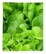 Lettuce Sing Fleece Blanket