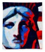 Liberty 3 Fleece Blanket