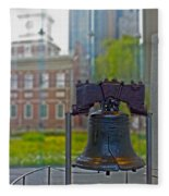 Liberty Bell Fleece Blanket