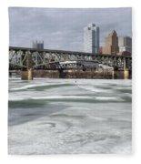 Liberty Bridge # 1 Fleece Blanket