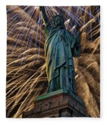 Liberty Fireworks Fleece Blanket