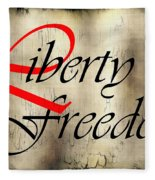 Liberty Freedom Fleece Blanket