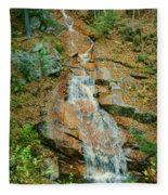 Liberty Gorge Falls Fleece Blanket