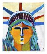 Liberty In Colors Fleece Blanket