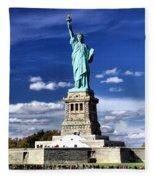Liberty Island Fleece Blanket