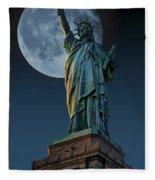 Liberty Moon Fleece Blanket