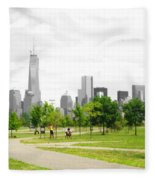 Liberty Park Fleece Blanket