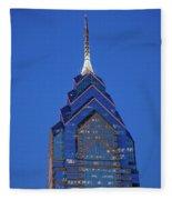 Liberty Place Skyscrapper At Dusk Fleece Blanket
