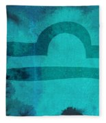 Libra Fleece Blanket