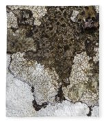 Lichen Mosaic Fleece Blanket