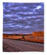 Lick Skillet Road Fleece Blanket