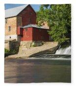 Lidtke Mill 5 Fleece Blanket