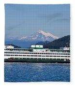 Life Around The San Juan Islands - Washington Fleece Blanket
