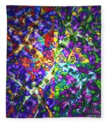 Life Force By Jrr Fleece Blanket