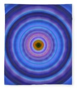 Life Light - Abstract Art By Sharon Cummings Fleece Blanket
