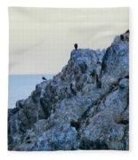 Life On The Rocks Fleece Blanket