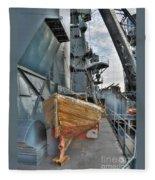 Lifeboat Fleece Blanket