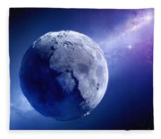 Lifeless Earth Fleece Blanket