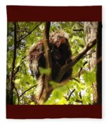 Life's A Beech Fleece Blanket