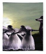 Lift Up Your Spirit Fleece Blanket