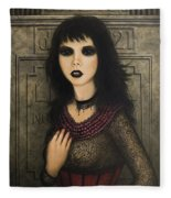 Ligeia Fleece Blanket