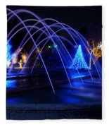 Light And Water In Motion Fleece Blanket
