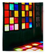 Light Entrance Fleece Blanket