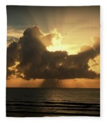 Light Explosion Fleece Blanket
