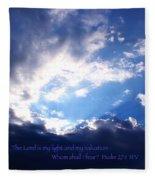 Light II Fleece Blanket