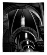 Light In The Basilica Fleece Blanket